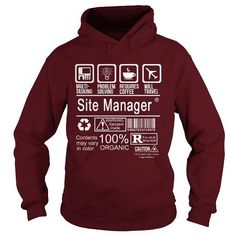 SITE MANAGER - CERTIFIED JOB T-SHIRTS, HOODIES (36.99$ ==► Shopping Now) #site #manager #- #certified #job #shirts #tshirt #hoodie #sweatshirt #fashion #style