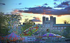 Thurtene Carnival 2013 at Washington University in St. Louis