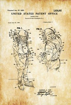 Deep Sea Fishing Gifts For Men Deep Sea Fishing Shirts Wall Prints, Poster Prints, Blue Prints, Deep Sea Diver, Diving Suit, Patent Drawing, Cool Inventions, Patent Prints, Technical Drawing