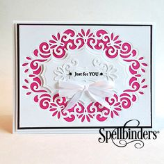 Paper Craft Ideas & Art Projects with Spellbinders