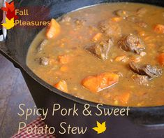 Spicy Pork and Sweet Potato Stew