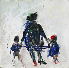 Sin título. Acuarela. 31 x 31 cm. 2007. - Artista: Jorge Rando