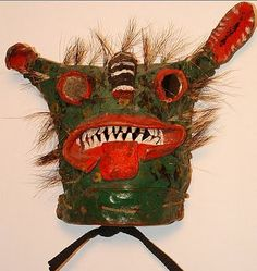 vintage mask, Mexico