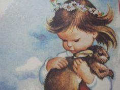 Eloise Wilkin Vintage Childrens Illustration by FeistyFarmersWife