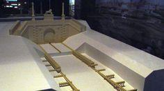 Recreación de la cabecera del Canal de Manzanares, cercana al Puente de Toledo