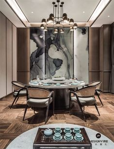 5 Simple Ideas to Improve Your Dining Room Design – Voyage Afield Luxury Dining Tables, Luxury Dining Room, Dining Room Design, Chinese Tea Room, Rooms Ideas, Chinese Interior, Private Dining Room, Indochine, Dining Room Inspiration