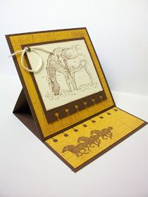 Handmade with Love: horse cards