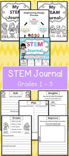 STEM Journal for any STEM challenge!
