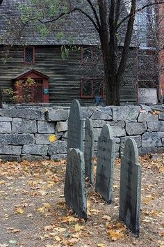 Old Salem, Massachusetts. These are really cool to see.