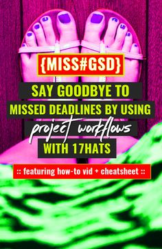 USING WORKFLOWS IN 17HATS TO NEVER MISS ANOTHER DEADLINE http://missgsd.com/blog/17hats-workflow/?utm_campaign=coschedule&utm_source=pinterest&utm_medium=Miss%20%23GSD&utm_content=USING%20WORKFLOWS%20IN%2017HATS%20TO%20NEVER%20MISS%20ANOTHER%20DEADLINE