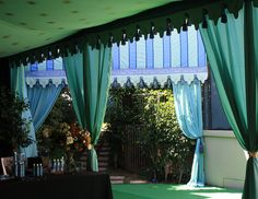 could make entrance with fake greenery, etc. to magical nature area