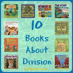 Teaching division can be a real challenge. Find the best division activites to help every type of learner master this important math skill. Teaching Division, Math Division, Teaching Math, 3rd Grade Division, Teaching Ideas, Long Division, Teaching Tools, Math Literature, Math Books