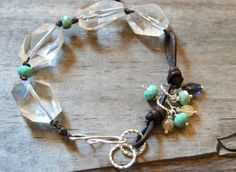 Art Bead Scene Blog: Learn To Make Leather Links For Jewelry