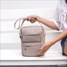 "Casual Zipper Women's Crossbody Bags Perfect for school outfit>>>>Large Capacit.""> Casual Zipper Women's Crossbody Bags Perfect for school outfit>>>>Large Capacity Multi-Pocket B Leather Crossbody Bag, Leather Backpack, Crossbody Bags, Stylish School Bags, Womens Designer Bags, Casual Bags, Brown Bags, Purses And Handbags, Bag Tutorials"
