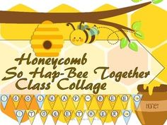 Honeycomb Class Collage! This collage allows each student to decorate their own honeycomb, but when placed together create a large classroom honeycomb! #prekplayfullearning, #prek, #preschool, #honeycomb, #beetheme, #Backtoschool, #allaboutme