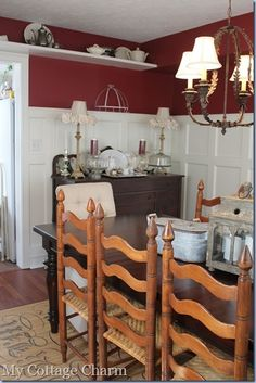 Great idea for making a raised panel wainscot