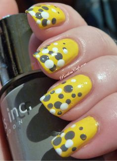 Thrifty Thursday Starring Milani and a Polka Dot Mani! | Pointless Cafe