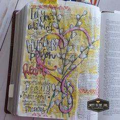 Soul Inspired Bible Journaling - Alyssa Avant, Christian Author and Speaker Scripture Art, Bible Art, Bible Scriptures, 1 Peter, Peter Bible, Bible Study Journal, Art Journaling, Bible Doodling, Bible Pictures