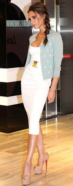 Victoria Beckham: White Haute For Summer! - My Fash Avenue
