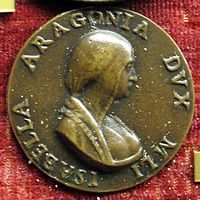 Isabella of Aragon, Duchess of Milan 1470-1524  - Wikipedia, the free encyclopedia
