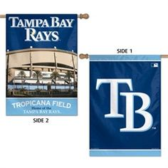 Tampa Bay Rays Double Sided House Flag measures inches in size, is made of polyester and is Double Sided. Our Tampa Bay Rays Double Sided House Flag provides a top pole sleeve to hang vertically and is MLB Genuine Merchandise. Peace Pole, Tampa Bay Rays, Vinyl Banners, House Flags, One Sided, Online Gifts, Banner Design, Making Out, Fan Gear
