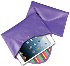 Protect your iPad mini with this leather, silk lined case by Under Cover.