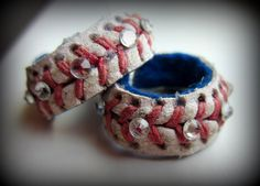 Baseball Jewelry Ring by Cookiescuffs on Etsy, $7.00