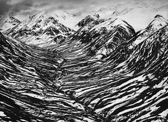 Bighorn Creek in the western part of the Kluane National Park, Canada 2011 - Sebastião Salgado