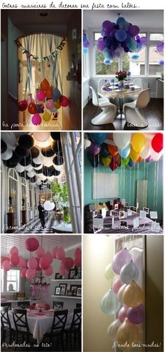Baloes, baloes, baloes...  SURPRESA PARA O DIA DOS NAMORADOS!!