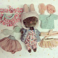 Some buns are real fashionistas #meeniak #craftsposure #craftcurate #etsyworld #etsyeurope #handmadeisbetter