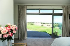 A view to wake you up in the morning! Custom Design, Windows, Curtains, Home Decor, Blinds, Decoration Home, Room Decor, Window, Draping