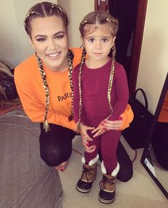 "Kardashian/Jenner Blog — Khloe: ""I made her my mini me!! """