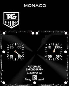 Apple Watch Face - Tag heuer face. by ttc