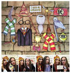 Harry Potter inspiriert  Zauberer und Hexen Magie von thepartyevent