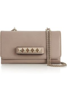 35f85ad1ad51 Blush leather (Calf) Magnetic snap-fastening front flap Designer color   Powder Comes with dust bag
