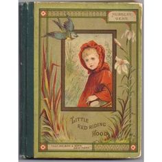 Antique Little Red Riding Hood Book by W. Gunston; Illustrated by M. ❤ liked on Polyvore featuring books, fillers and backgrounds