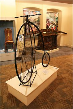 Penny Farthing,  Bowes Museum by alanhitchcock49, via Flickr
