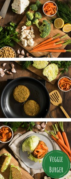 A veggie burger even your meat-eating family will love 🍔 Made with fresh broccoli, carrots and cauliflower, this veggie burger is exploding with nutrient-rich flavours 😋 #BuyBC.