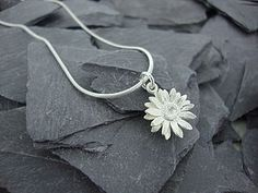 Sunflower Pendant - necklaces & pendants