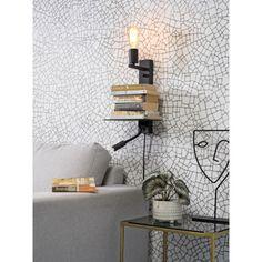 It's about Romi Florence wandlamp met leeslamp | FLINDERS Decor, Shelves, Lighting, Lamp, Home Decor