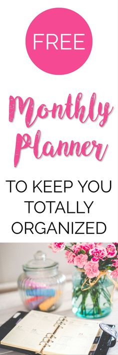 If you're looking for a FREE monthly planner printable you have come to the right place! This gorgeous 12 page planner will keep you organised all year. Planner Organization, School Organization, Printable Organization, Planner Layout, Planner Ideas, Monthly Planner Printable, Business Planner, Business Ideas, Free Printables