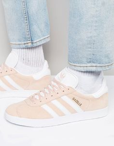 Image 1 of adidas Originals Gazelle Sneakers In Pink BB5472