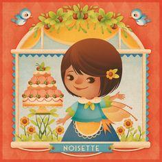 Gaia Bordicchia Illustrations: Vanille, Framboise & Noisette