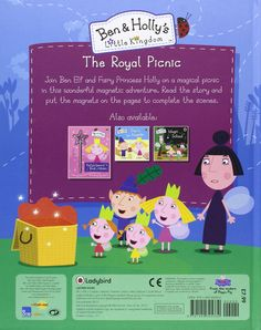 Ben and Holly's Little Kingdom: The Royal Picnic Magnet Book (Ben & Holly's Little Kingdom): Amazon.co.uk: Ladybird: 9781409305330: Books