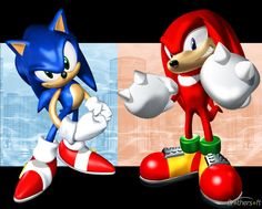 Sonic and Knuckles Free Sonic, Sonic & Knuckles, Echidna, Back In The Day, Bowser, Videogames, Sonic The Hedgehog, Nerdy, Geek Stuff