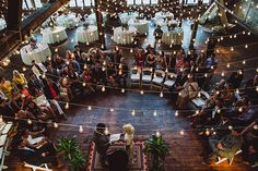 wedding venues in Brooklyn - photos by Shannon Roddy and Elena Mudd for Amber Gress Photography http://ruffledblog.com/stylish-greenpoint-loft-wedding