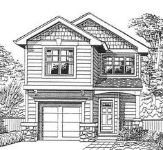 House Plan 91470 | Bungalow   Craftsman    Plan with 1400 Sq. Ft., 3 Bedrooms, 3 Bathrooms, 1 Car Garage