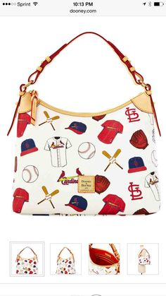 St Louis Cardinals Mlb Clear Lunch Tote By Dooney Bourke Women Pinterest And Stl
