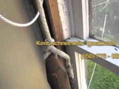Window Weight Repair for Old Windows - YouTube easy to do actually. As long as the windows are not painted closed!