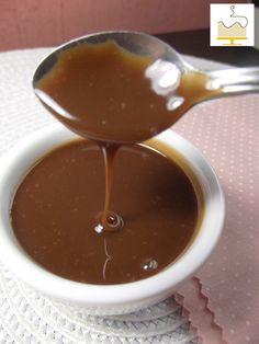 Cobertura de Chocolate sem Leite para Bolo